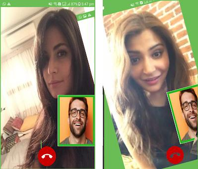 Fake Video Call Bollywood Celebrity Fake Time Preview Screenshot
