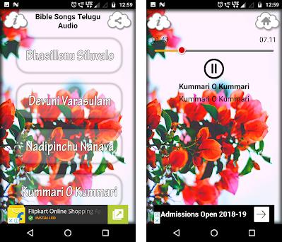 Bible Songs Telugu Audio 4 0 apk download for Android • com