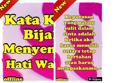 Kata Kata Bijak Menyentuh Hati Wanita 8 0 8 Apk Download For Android