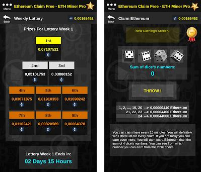 Ethereum Claim Free - ETH Miner Pro 1 1 apk download for Android