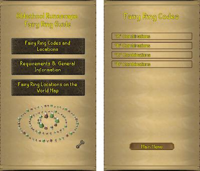 Oldschool Runescape Fairy Ring Guide 1.2 apk download for ...
