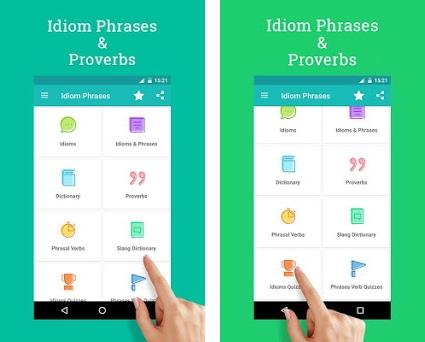 English Idioms, Phrases & Proverb 1 5 apk download for