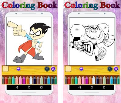 Coloring Book For Titans Go 1 1 Apk Download For Android
