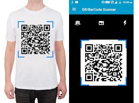 QR/Barcode Scanner preview screenshot