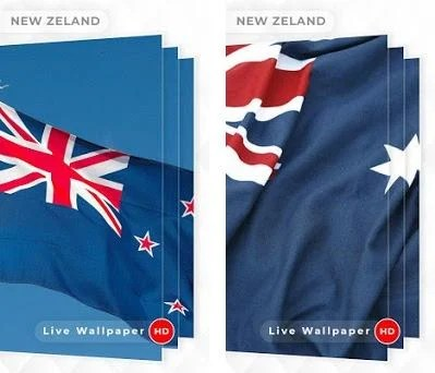 New Zealand Flag 3d Live Wallpaper 10 Apk Download For Android