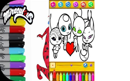 Coloriage Ladybug Chat Noir Dessins 1 5 Apk Download For Android
