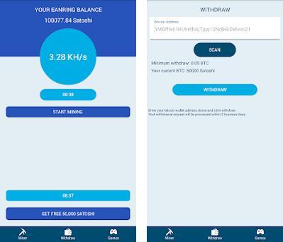 Bitcoin Miner Robot - Free Bitcoin Miner Android 1 5 0 apk