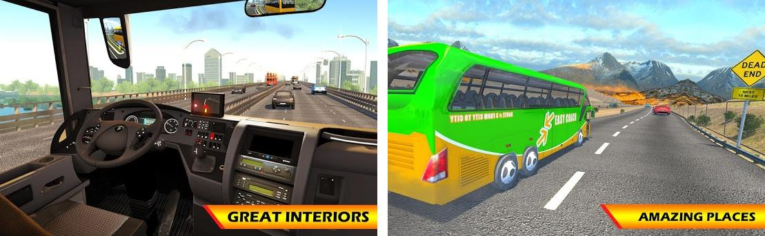 Euro Coach Bus Driving 2018 City Highways Usa 1 3 Apk Download For