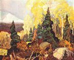 Autumn Hillside (1920) - Franklin Carmichael