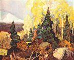 Autumn Hillside (1920) - Franklin Carmichael
