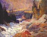 Falls Montreal River (1920) - J. E. H. MacDonald