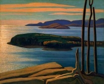 Afternoon Sun, Lake Superior (1924) - Lawren Harris
