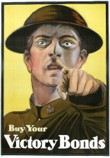 Loosely based off of the far less judgemental looking Uncle Sam poster/Britain's 1914 Lord Kitchener poster, the Canadian government decided to create their own version given the success of the two aforementioned posters.