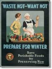 "...or performing ""housewife duties"" for the benefit of men such as food rationing."