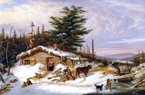 Settler's Log House (c. 1856)