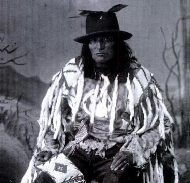 Bull Head, a Sacree (Tsuu T'ina) Chief. (A. Ross, 1887)