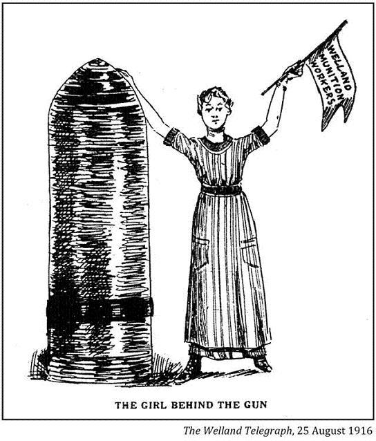 Canadian WWI Political Cartoons