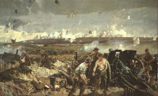 The Battle of Vimy Ridge - Richard Jack