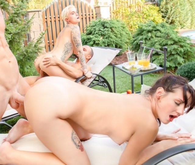 Private Hd Porn Video Poolside Orgy For Busty Agents