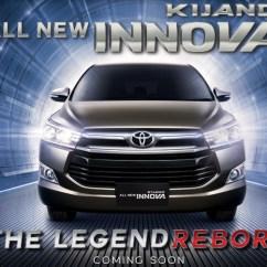All New Kijang Innova Reborn Grand Avanza 2016 Tipe G Toyota Officially Teased Autocar India