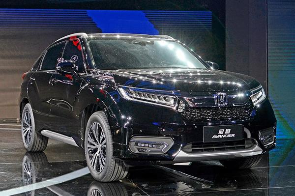 Honda Avancier SUV Unveiled At Beijing Autocar India