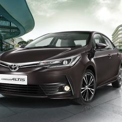 All New Corolla Altis Harga Innova Venturer 2017 Toyota Price Variants Explained Autocar India Facelift