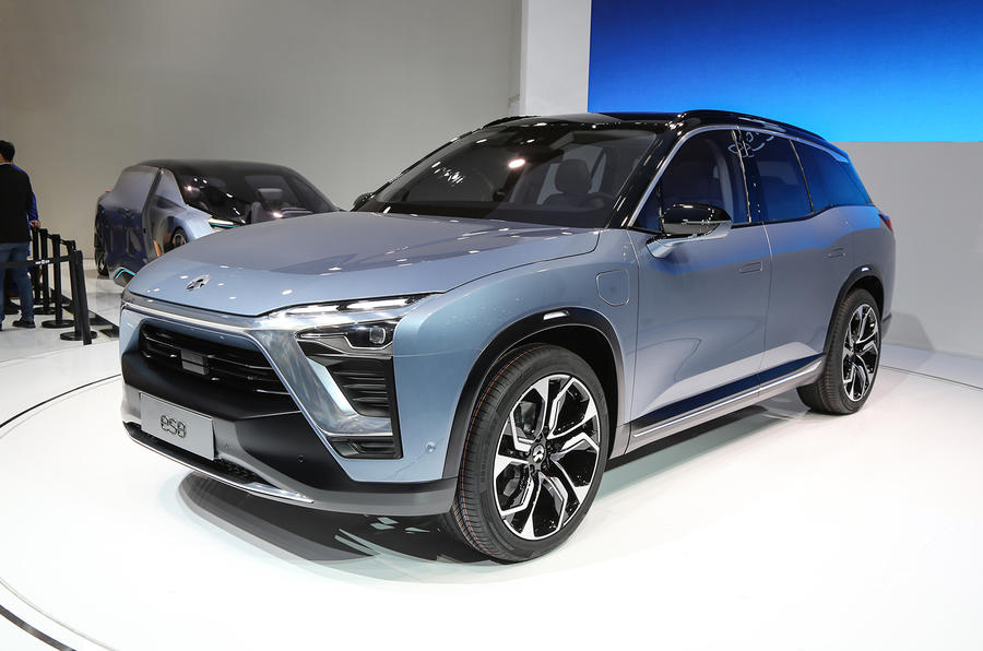 NIO begins delivery of ES8 electric SUV  Autocar India