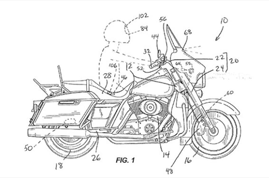 Harley-Davidson developing autonomous braking tech