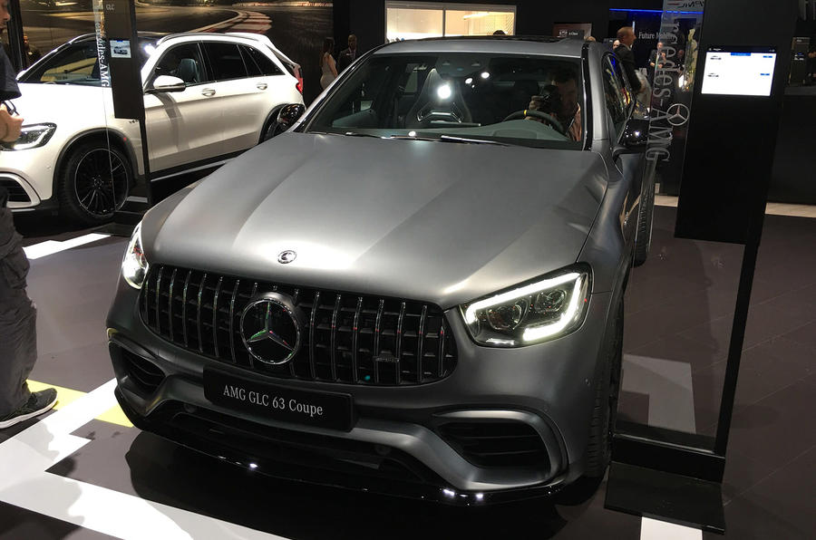 New Mercedes Amg Glc 63 Glc 63 S Suv And Suv Coupe