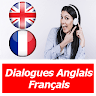 dialogues anglais français quotidien audio texte apk icon