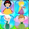 Memory games for kids - Girls matching games free apk icon