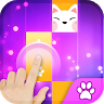 download Pink Cat Piano - Magic Girly Piano Tiles Cat apk