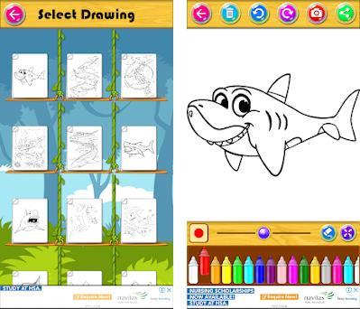 Mewarnai Buku Baby Shark 3 0 1 Apk Download For Android Com
