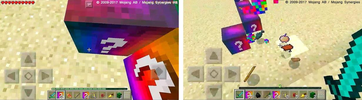 Spiral Lucky Blocks MCPE Addon 1 0 apk download for Android