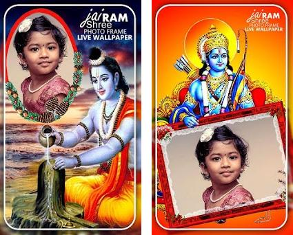 Shree Ram Photo Frames Live Wallpaper 14 Apk Download For Android