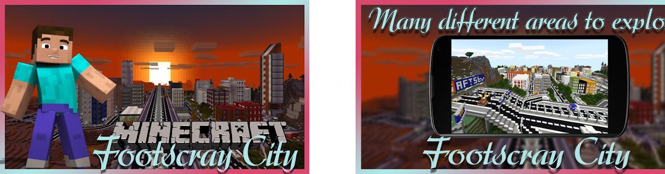Footscray City map MCPE – map Minecraft PE 1 0 apk download