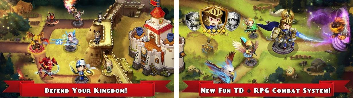 Knight Defender 1 0 6 Apk and OBB Data download for Android