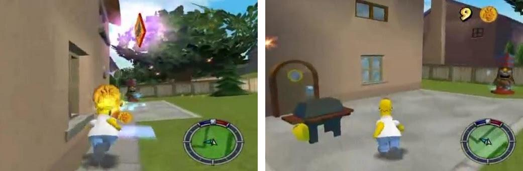 Hint The Simpsons Hit and Run preview screenshot