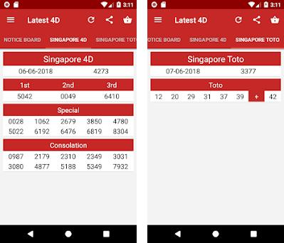 4dCombo SG: Live Singapore 4D Results 4 2 4 apk download for Android