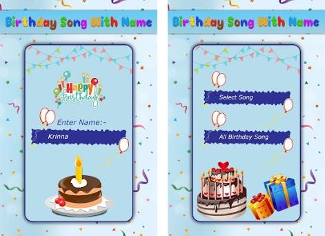 Birthday Song with Name 1 1 apk download for Android • video player
