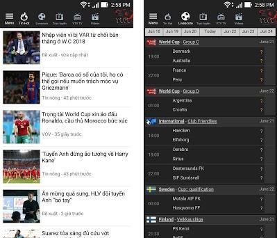 Bong Da TV 1 1 7 apk download for Android • bongda tv live2018