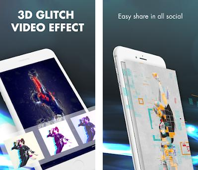 3D Glitch Video Effects - Camera VHS Camcorder 1 0 apk download for