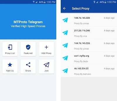 MTProxify - Telegram MTProto Proxies 3 0 apk download for Android