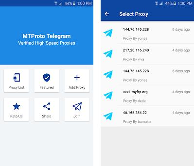 MTProxify - Telegram MTProto Proxies 3 0 apk download for