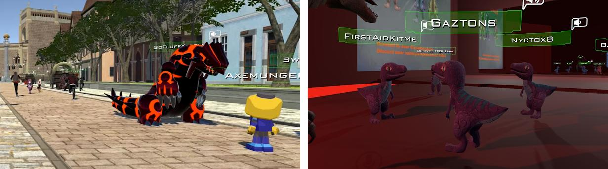 VRChat Skins - Dinosaur Avatars 1 0 apk download for Android