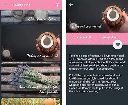 Cosmetique Organique - your homemade cosmetics 1 2-tablet apk