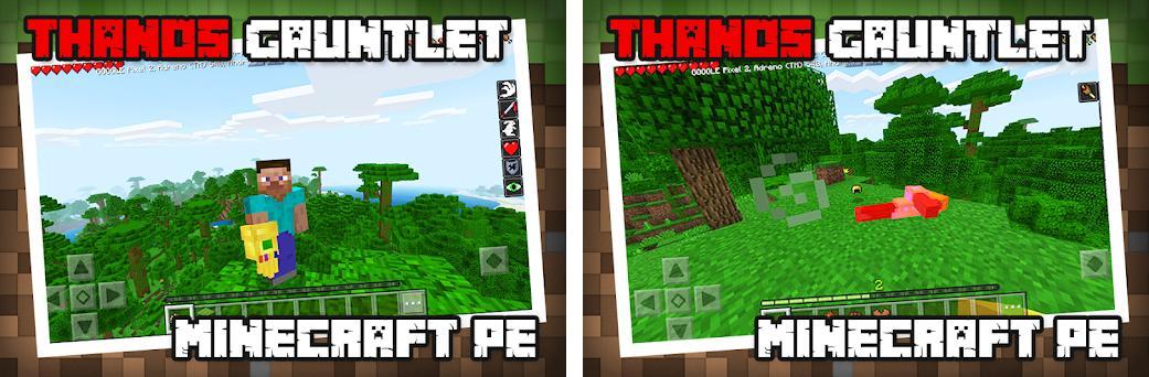 thanos mod minecraft
