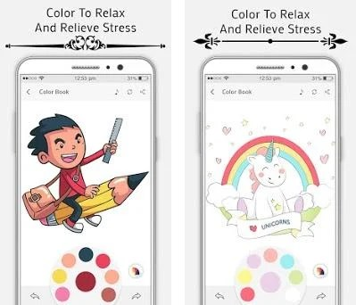 Superhero Bheem Coloring Book Preview Screenshot