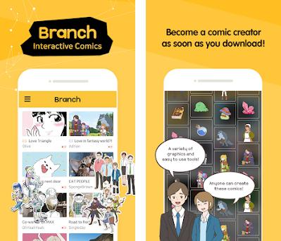 Branch - Comics, Cartoons, Webtoon and Hellopet 1 6 10 apk download
