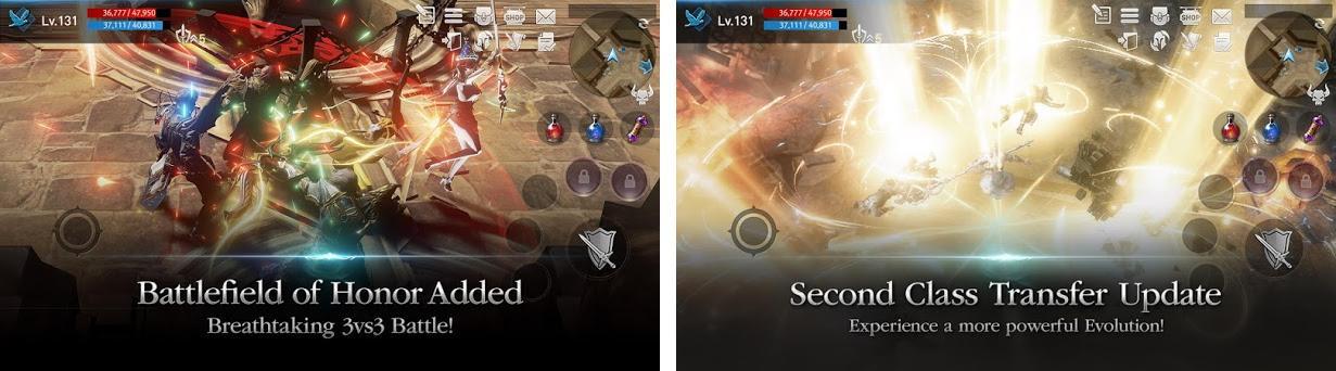 Lineage2 Revolution Capturas de pantalla